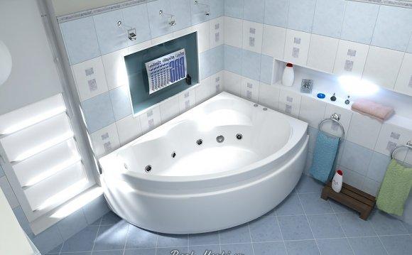 Акриловая ванна Bas Лагуна R