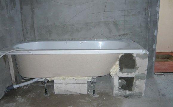 каркас под ванну акриловую