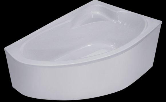 Угловая акриловая ванна «NIKA»
