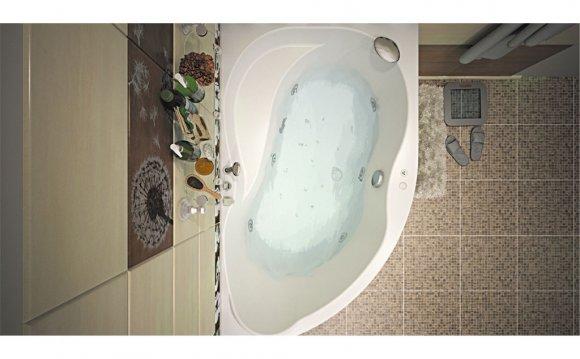 Акриловая ванна Aquanet